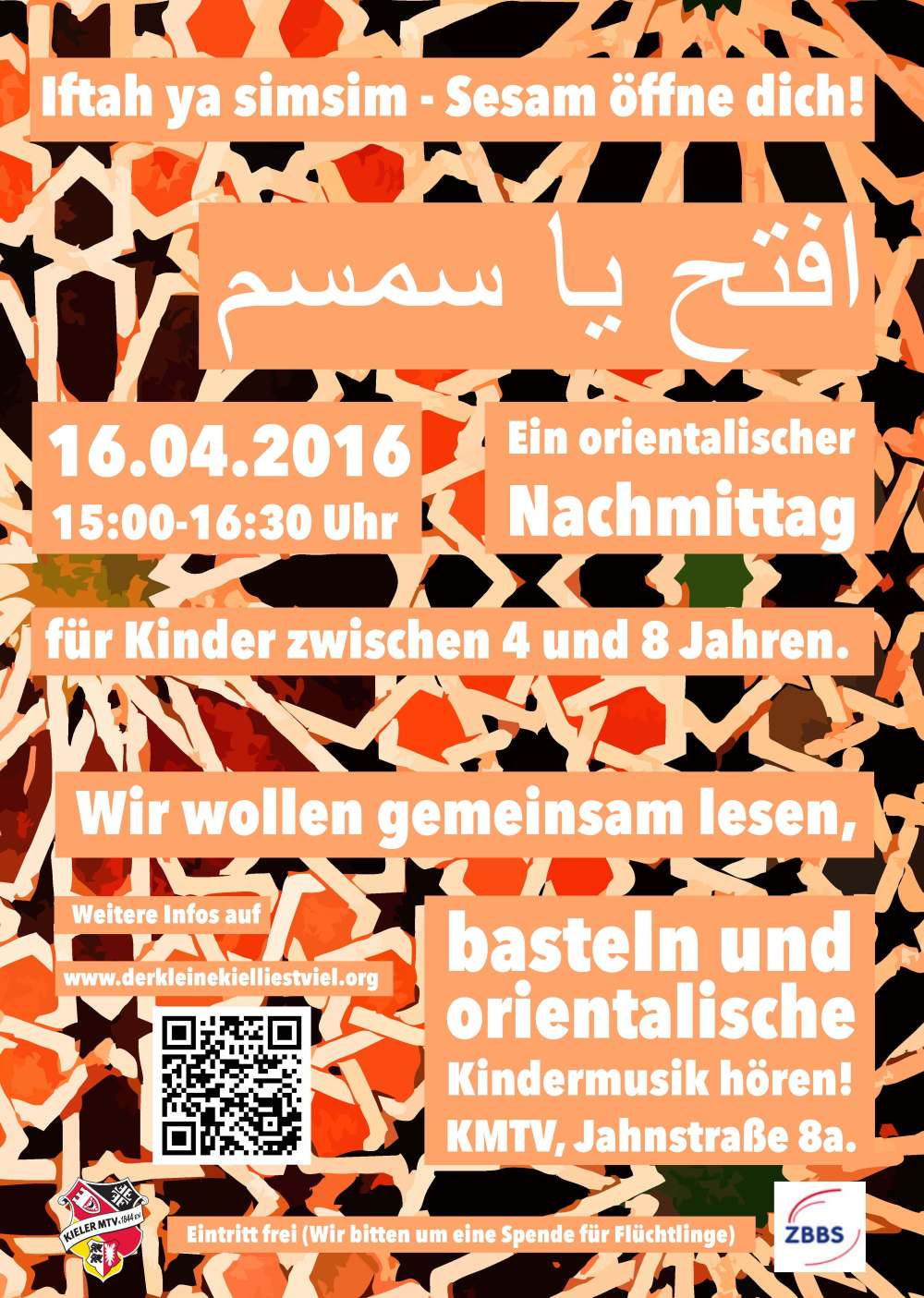 Iftah ya simsim – Sesam öffne dich Kiel 16.04.2016!